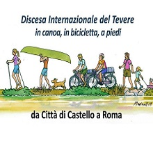 International Tiber Canoe Descent: from Citta' di Castello to Rome